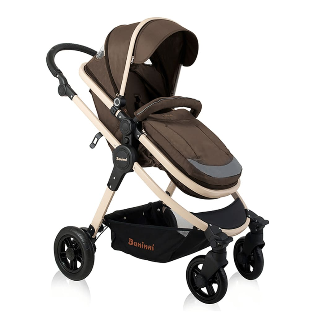Image of Baninni 3-in-1 Passeggino Ayo Marrone BNST011-BR