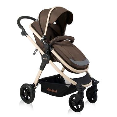 Baninni 3-1 Vaikiškas vežimėlis Ayo, cukraus ruda BNST011-BR[1/5]