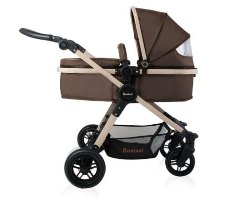 Baninni 3-1 Vaikiškas vežimėlis Ayo, cukraus ruda BNST011-BR[3/5]