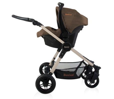 Baninni 3-1 Vaikiškas vežimėlis Ayo, cukraus ruda BNST011-BR[4/5]