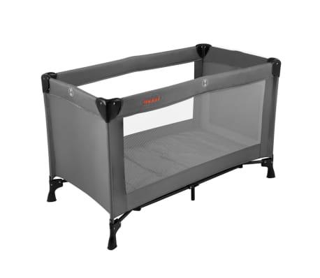 baninni reisebett nido grau 80x66x126 cm bnbt006 gy g nstig kaufen. Black Bedroom Furniture Sets. Home Design Ideas