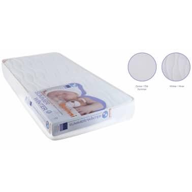 Baninni Matelas pour enfants Blanc 120 x 60 x 12 cm BNBTA007-WH[2/4]
