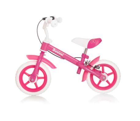 Baninni Bicicletă de echilibru Wheely, roz, BNFK012-BK[3/3]