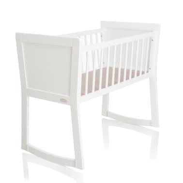 Astounding Baninni Baby Crib Nocchio 40X90 Cm White Bnbt001 Wh Vidaxl Download Free Architecture Designs Osuribritishbridgeorg