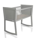 Baninni Baby Crib Nocchio 40x90 cm Light Grey BNBT001-LGY