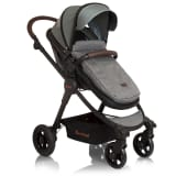 Baninni 3-1 Vaikiškas vežimėlis Ayo Limited Edition, pilkas