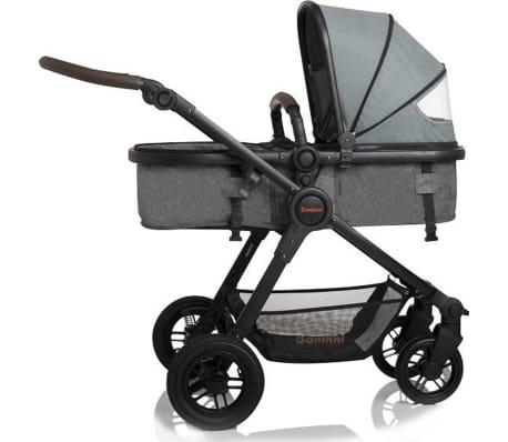 Baninni 3-1 Vaikiškas vežimėlis Ayo Limited Edition, pilkas[4/9]
