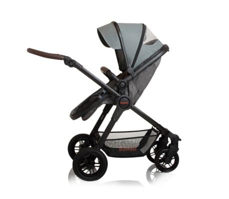 Baninni 3-1 Vaikiškas vežimėlis Ayo Limited Edition, pilkas[6/9]