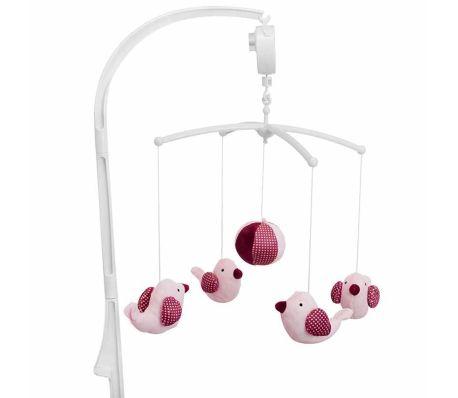 Baninni Mobile musical pour bébés Pink Bird Rose BNMM001-PKBD[1/2]