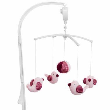 Baninni Mobile musical pour bébés Pink Bird Rose BNMM001-PKBD[2/2]