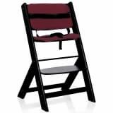 Baninni Coussin de chaise haute Scala & Dolce Mio Bordeaux BNDTA001-RD