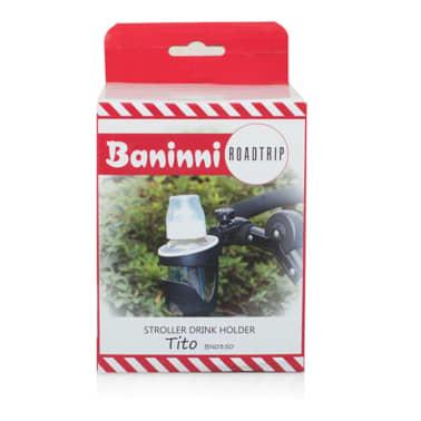 Baninni Uchwyt na kubek do wózka dziecięcego Tito, czarny, BNSTA013-BK[5/7]