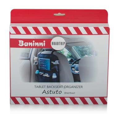 Baninni Organisateur de siège arrière pour tablette Astuto Noir[6/8]