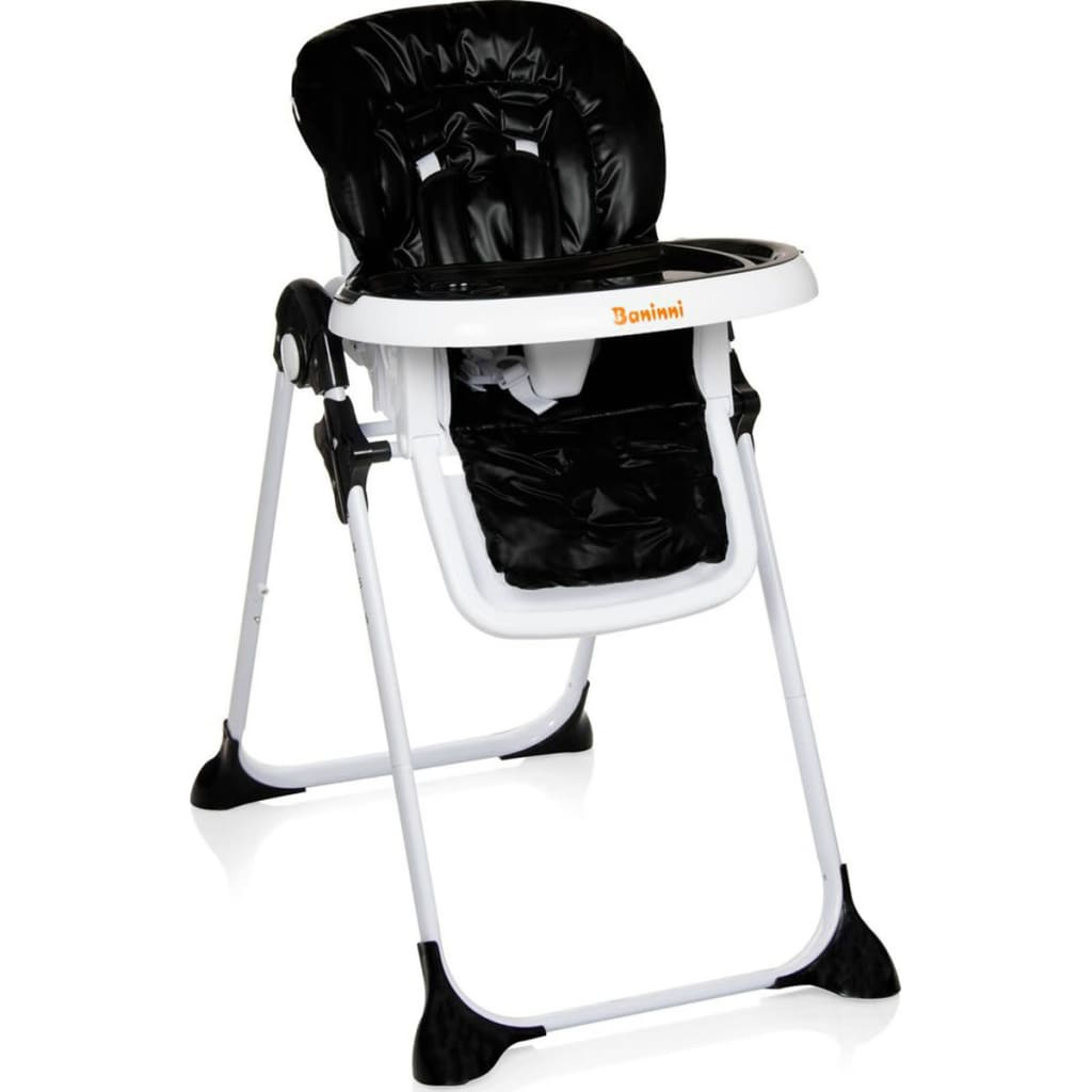 Afbeelding van Baninni Kinderstoel inkapbaar Olivo zwart BNDT007-BK