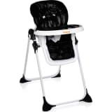 Baninni Wysokie krzesełko składane Olvio, czarne, BNDT007-BK