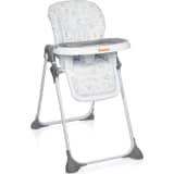 Baninni Wysokie krzesełko składane Olvio, szare, BNDT007-GY