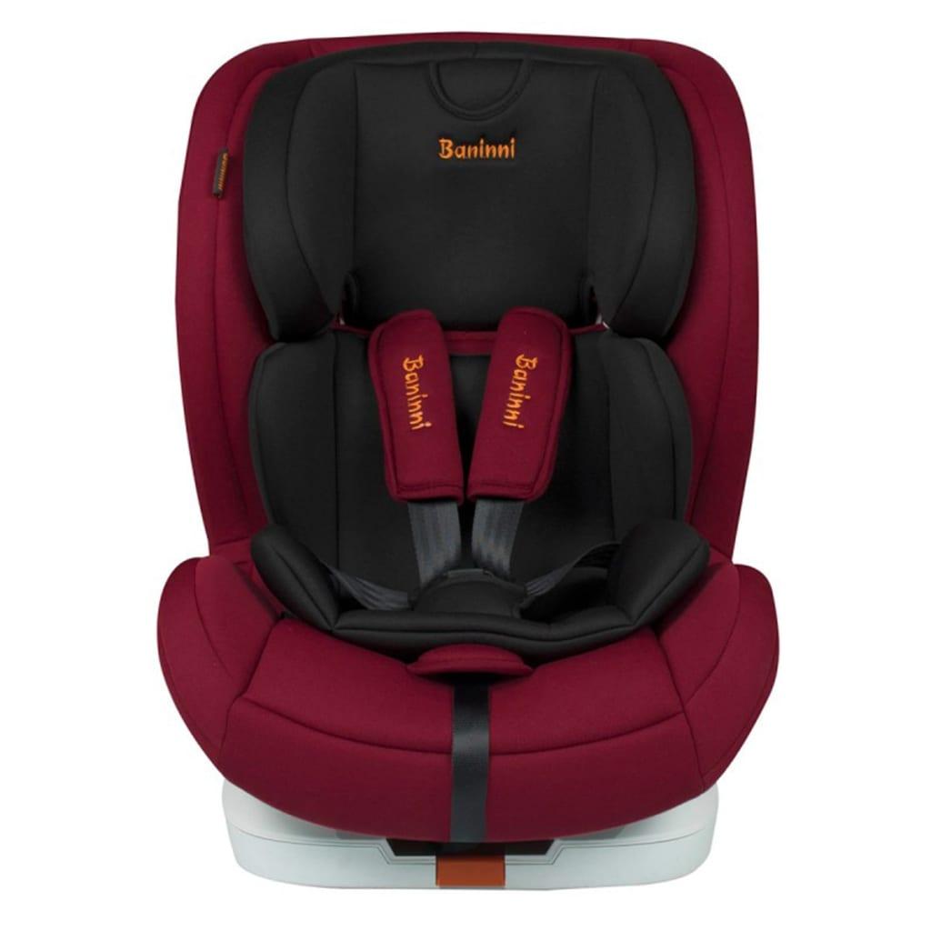 99410667 Baninni Autositz Fiero Isofix 1+2+3 Dunkelrot BNCS001-DRD