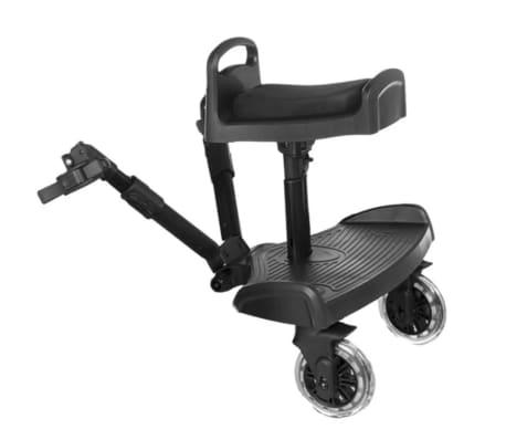Baninni Dziecięca dostawka do wózka Passo, czarny BNSTA005-BK[1/6]