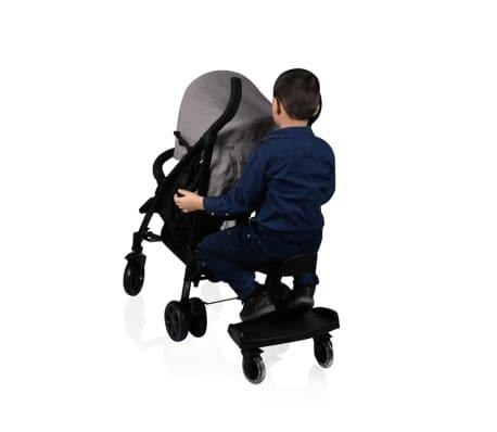 Baninni Dziecięca dostawka do wózka Passo, czarny BNSTA005-BK[4/6]