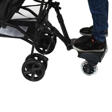 Baninni Dziecięca dostawka do wózka Passo, czarny BNSTA005-BK[3/6]