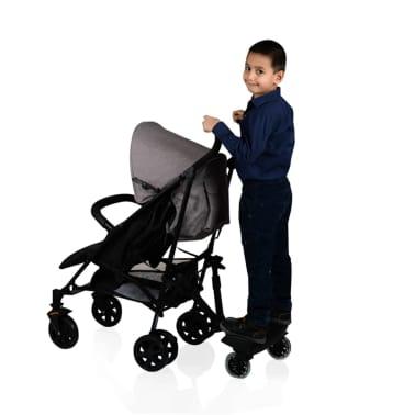 Baninni Dziecięca dostawka do wózka Passo, czarny BNSTA005-BK[6/6]