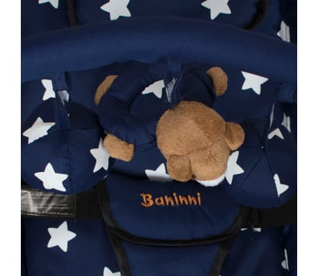 Baninni Vaikiška supamoji kėdutė Relax Classic, mėlyna BNBO002-BLST[4/4]