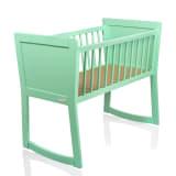Baninni Cuna para bebés Nocchio 40x90 cm menta BNBT001-MT