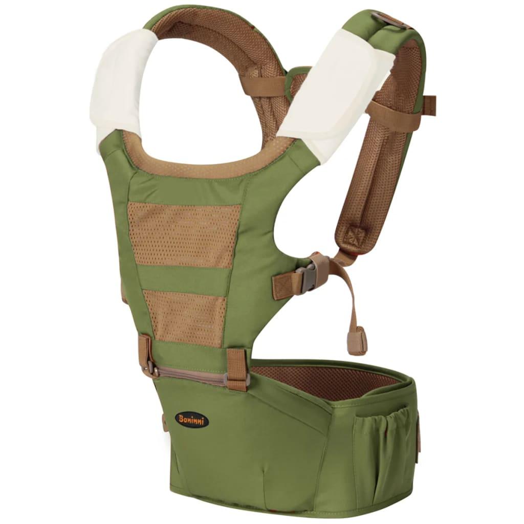 Afbeelding van Baninni 3 in 1 Babydrager met heupstoeltje Porta 15 kg BNBC003 GR