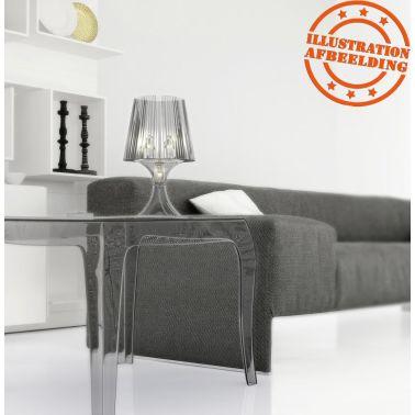 Bijzettafel Retro Design.Transparante Design Bijzettafel Retro Vidaxl Nl