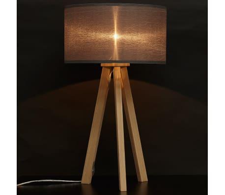 Lampe Poser Jour 'spring Avec Mini' Style Gris À Trepied Abat bfyvI76gY