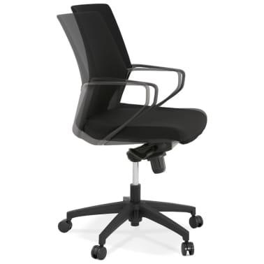 Design Bureaustoel Kopen.Design Bureaustoel Kiwi Low In Zwarte Stof Online Kopen Vidaxl Nl