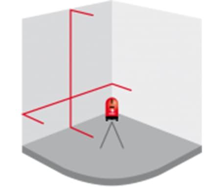 Futech Nivel láser de línea cruzada Teracross 013.02[9/11]