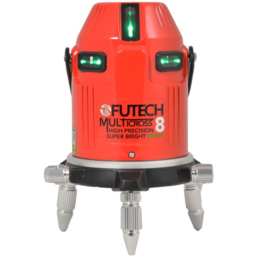 Afbeelding van Futech Kruislijnlaser MC8 HPSB Groen 045.08