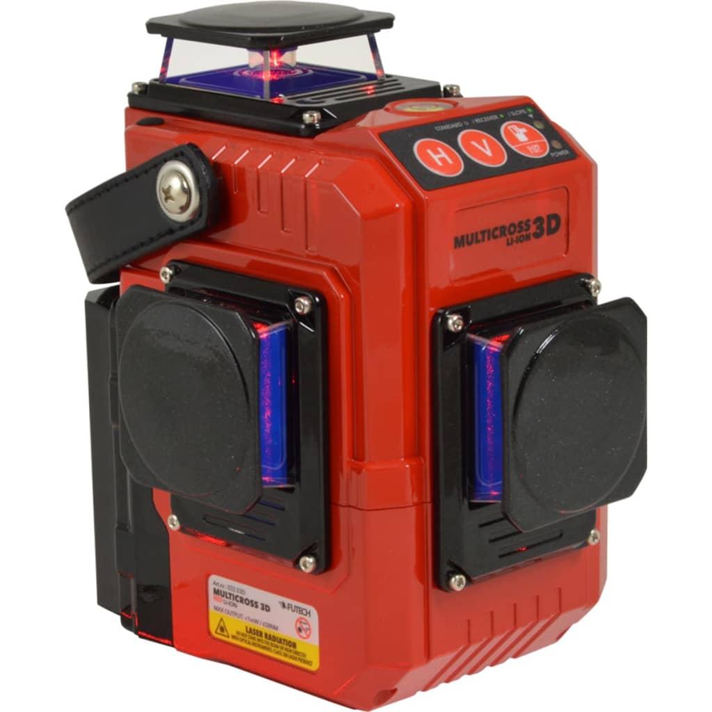 Afbeelding van Futech Kruislijnlaser Multicross 3D Red 032.03D