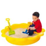 Paradiso Spielzeug Yellow Sandbox / Pool Sun 114x26cm
