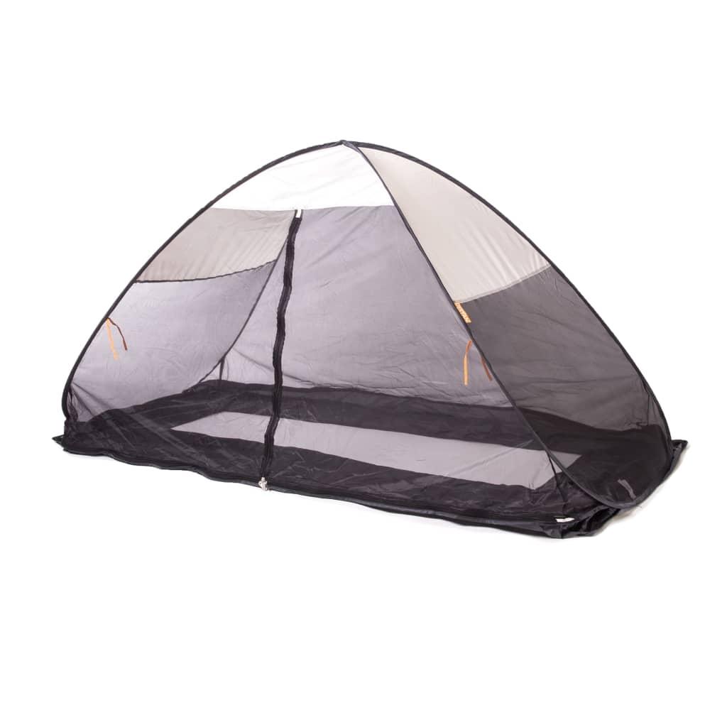 DERYAN Cort pop-up de pat cu plasă anti-țânțari, crem, 200x90x110 cm imagine vidaxl.ro