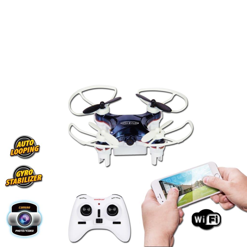 99411733 Gear2Play Drohne Nano Smart mit Kamera TR80525