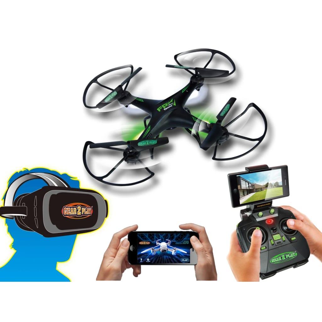 Gear2Play Drone FPV Urban met camera en 3D VR bril TR80540