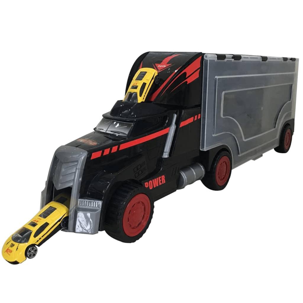 Afbeelding van Gear2Play Supertruck met metalen auto's TR50011