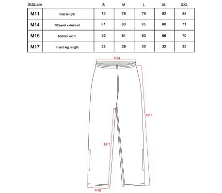 Willex Pantalon de pluie Taille L Noir 29617[2/2]