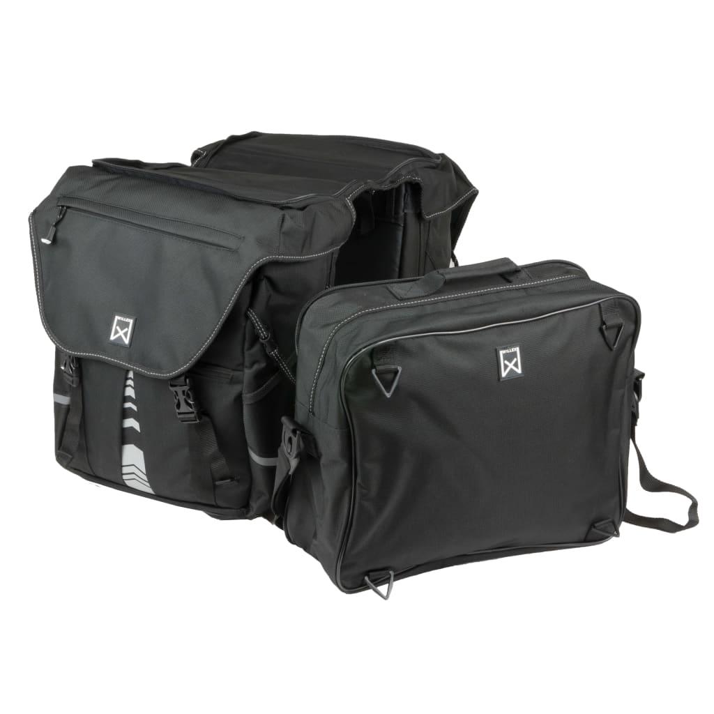 Willex Fietstassen met bovenvak XL 1200 65 L zwart 13411