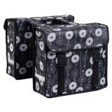7-series Dviračio krepšiai, 26 L, gėlėtas dizainas, juodos sp., 72102