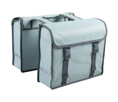7-series Dviračio krepšiai, 26 L, žali, rombai