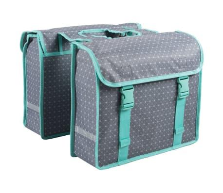 7-series Dviračio krepšiai, 26 L, geometrinis raštas, pilki, 72116[1/2]