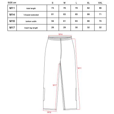 Willex Combinaison de pluie Taille XXL Rouge et noir 29152[3/3]