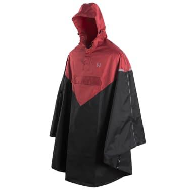 Willex Poncho de pluie avec capuche Taille S/M Rouge et noir 29221[1/2]