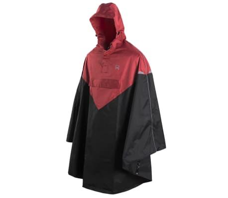 Willex Regenponcho mit Kapuze Gr. L/XL Rot und Schwarz 29222[1/2]