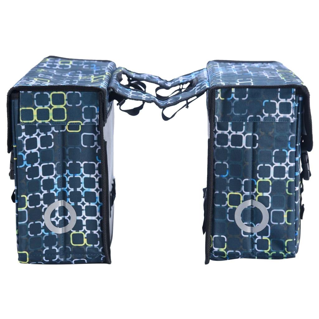 Willex Geantă de bicicletă dublă Cyber, negru, 33 L