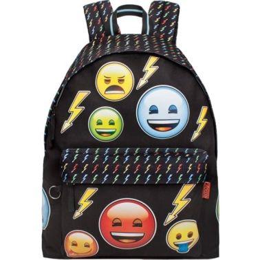 0585adbdd18 Emoji Bolt Rugzak meisjes zwart 18 liter online kopen | vidaXL.nl