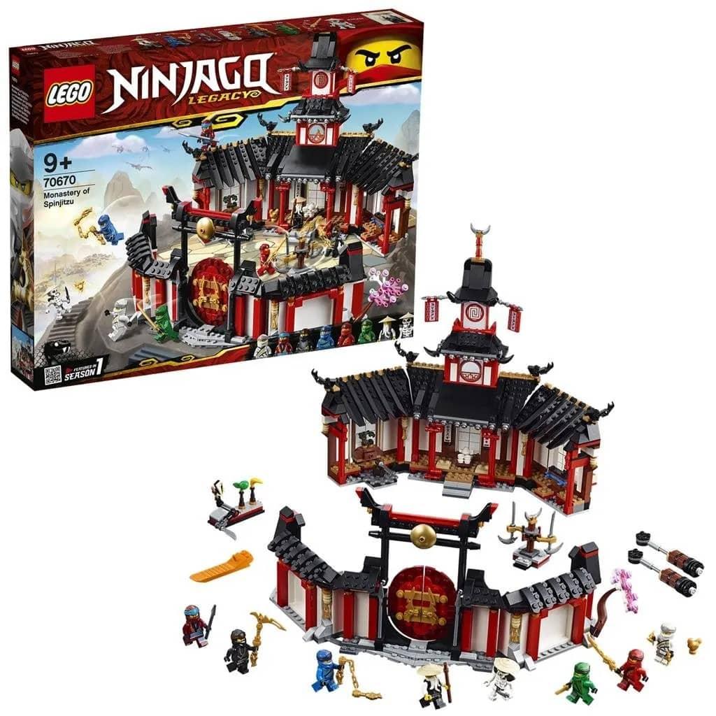 LEGO Ninjago Spinjitzu 70670 Klooster